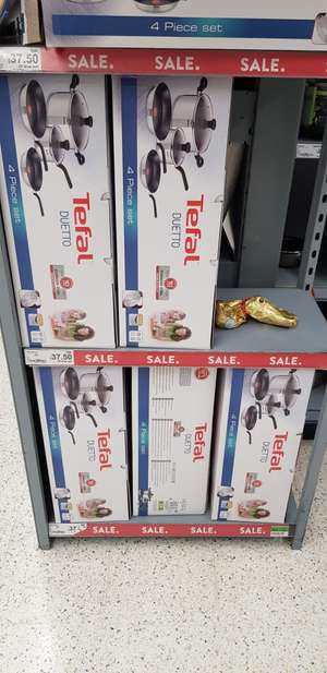 Tefal Duetto 4 Piece Set  £37.50 @ Asda Instore