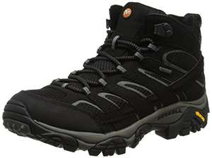 Merrell Men's Moab 2 Mid Gore-TEX High Rise Hiking Boots £62.49 @ Amazon