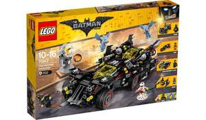 LEGO Batman Movie - The Ultimate Batmobile - 70917 £69.97 (RRP £139.99) £69.97 @ Asda