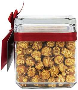 Joe & Seph's Square Glass Jar of Toffee Apple with Cinnamon Popcorn 120g £6.37 / £6.05 S&S @ Amazon