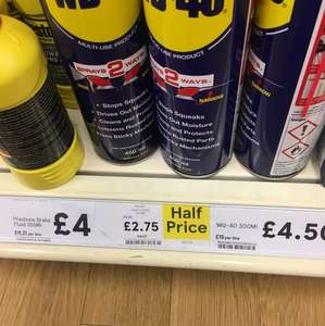 Wd40 smart spray £2.75 instore @ Tesco 450ml