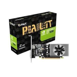 Palit GeForce GT 1030 2GB Low Profile Graphics Card. Free delivery option. £59.97 @ Laptops Direct