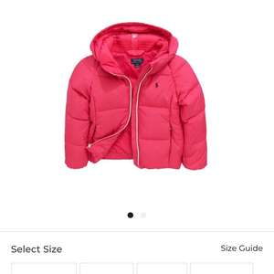Ralph Lauren Girls padded down jacket £39.99 with code W1040 @ Bargain Crazy