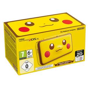 New Nintendo 2DS XL Pikachu Edition £129.99 @ Smyths Toys