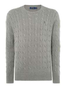 Polo Ralph Lauren Cable Knit Jumper (was £119) @House of Fraser