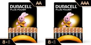 16 Duracell AA / AAA Batteries - £8 @ ASDA & Tesco