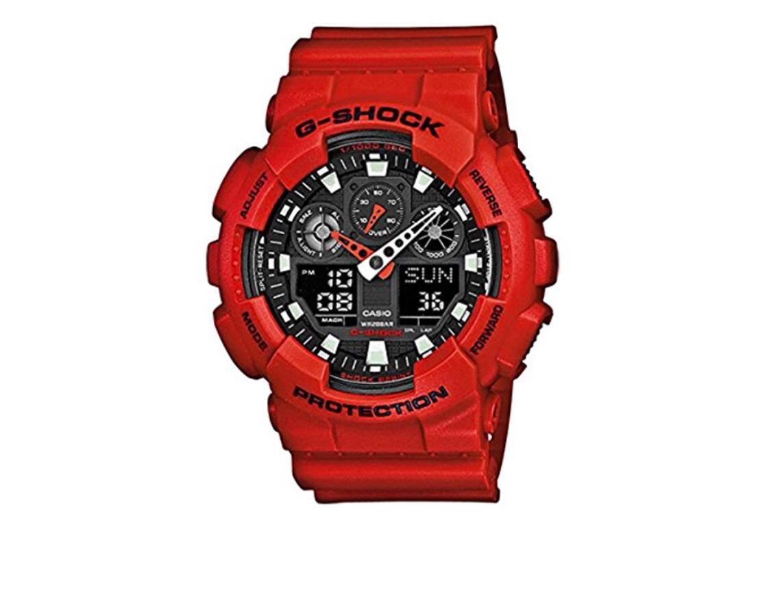 Casio G-Shock Men's Watch GA-100B £65.85 @ Amazon