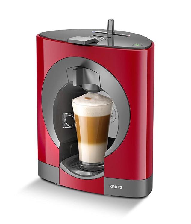 Tefal Nescafe Dolce Gusto Oblo Coffee Machine (1500W) (Red) £59.99 @ Amazon