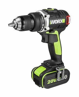WORX Professional WU175 Brushless 18V Drill Driver 2 x 5.0Ah Batteries £99.99 positecworx / Ebay