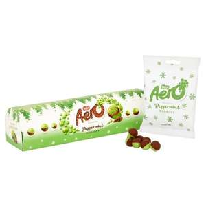 Aero Peppermint Bubbles Supertube 240g £1.33 @ Ocado