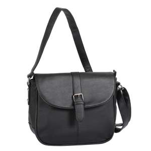 IT Bag Leather Flapover Tab Detail £10.39 with code + £4.95 del @ Bags etc.
