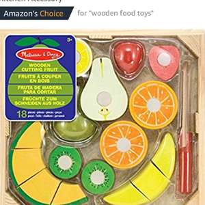 Melissa & Doug Cutting Fruit Set Melissa & Doug Cutting Fruit Set £11.24 prime / £15.99 non prime @ Amazon