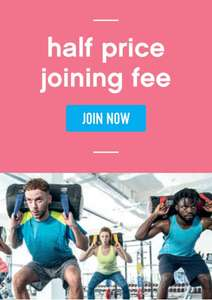 Half price joining fee - The Gym Group