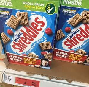 Shreddies 415g (half price) £1 Sainsbury's