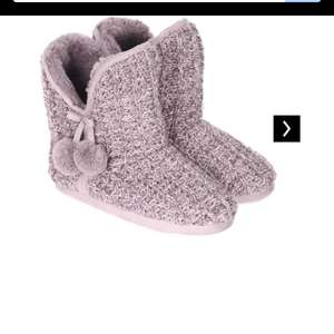 Ladies bootie slippers only 7/8 left £5 @ Peacocks - Free c&c