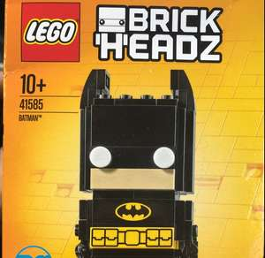 Lego Batman Brickheadz £2.49 in Asda Crawley