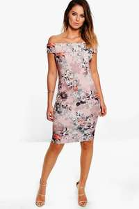 Midi Dress in Boohoo ONLY £3 UNFORTUNATELY ONLY IN SIZE 6 £4.50 delivered with code