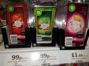 Airwick wax melts £1.50 @ Home Bargains