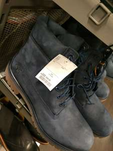 Timberland boots in navy £69.99 @ TK Maxx Manchester Fort
