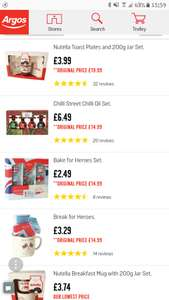 Food and Drink Gifts Clearance at Argos + Free click and collect - Prices start at £1.99
