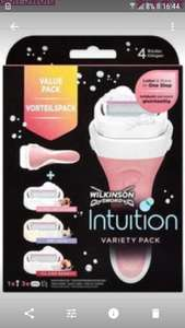 Wilkinson sword intuition variety pack £6.99 @ Semichem