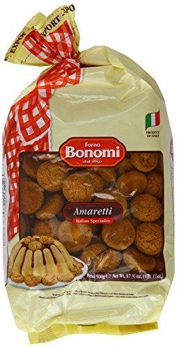 Forno Bonomi Amaretti Biscuits 500 g (Pack of 3) £8.97 @ Amazon Prime non prime +£4.75 postage
