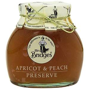 Mrs Bridges Apricot and Peach Preserve (Pack of 6) +4.95 delivery