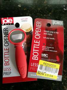 JOIE BOTTLE OPENER 4p clearance item Tesco