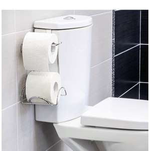 Wonder Worker Handy Toilet Paper Holder for 2 Rolls - £8.49 (Prime early access exclusive) - Sold by Tatkraft and Fulfilled by Amazon