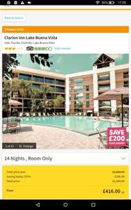 Orlando -14 nights including flight & hotel- 2 Adults + 2 Children -3rd May from Manchester - £366.00 per person using code BOOKIT @ Thomas Cook