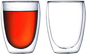 Bodum PAVINA Double Walled Thermo Glasses, 0.35 L, 12 oz, Pair - £14.49 Prime / £18.48 non Prime @ Amazon