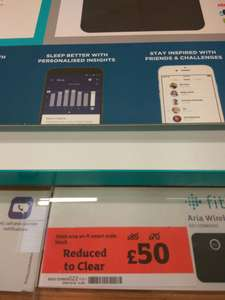 Fitbit aria smart scales WiFi @ Sainsbury's £50