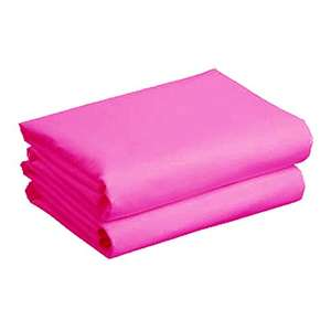 Cuddles Collection Cot Jersey Sheets (2 Pack, Cerise)