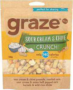 Various Graze Products Between 79-99p @ Heron Foods.