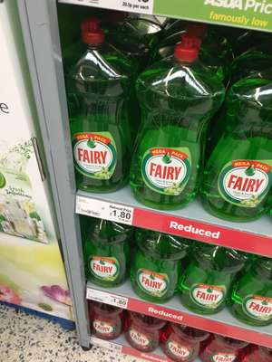 Fairy Washing up Liquid 1.44L - £1.80 @ ASDA