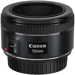 Canon 50mm f1.8 STM // £95.40 Good price for this lens @ Amazon