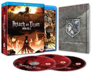 Attack on Titan: Part 1 (Episodes 1-13) Collector's Edition (Blu-ray) £18.49 Delivered @ Base