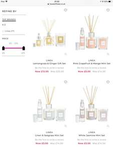 FRAGRANCE & CANDLE GIFT SETS SALE AT HOUSE OF FRASER - prices start from £5 (£2 C+C / £3.95 delivery)
