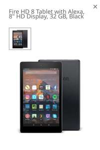 Amazon Fire HD 8 16gb for £59.99 or Fire HD 8 32gb for £79.99 at scan.co.uk