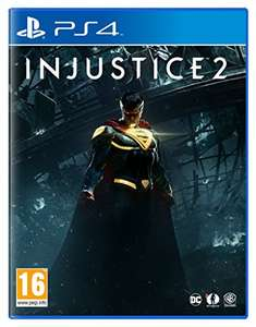 Injustice 2 (PS4) / (XBOX) £16.59 (Prime) / £18.58 (non Prime) at Amazon UK    (Back in Stock)