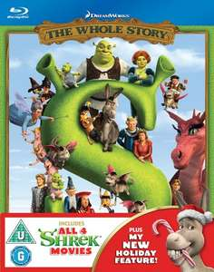 Shrek: The Whole Story (Blu-Ray Inc Christmas Special) £10.80 Delivered (Using Code) @ Zoom