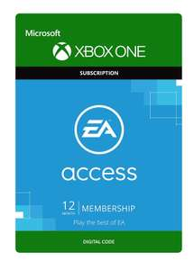 EA Access - 1 Year Membership [Xbox One - Download Code] £17.99 @ Amazon
