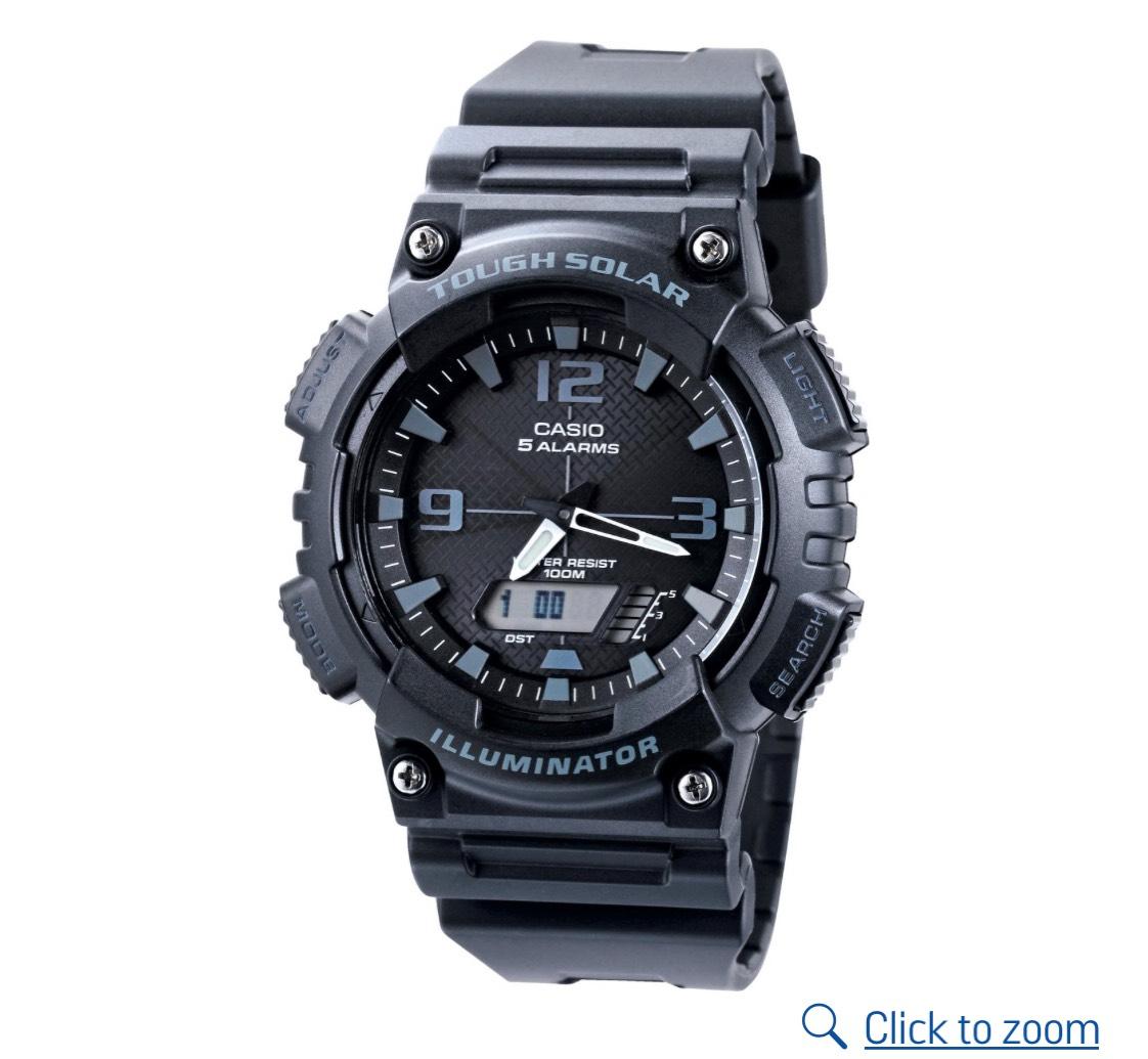 Casio Men's Digital Solar and Analogue Watch, free c&c £29.99 @ Argos
