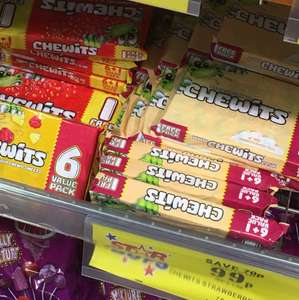 7 packs of chewits (strawberry ice cream etc sweets) 99p instore at home bargains