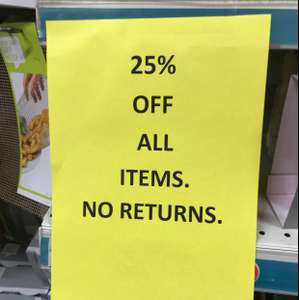 Poundland Lewisham High Street Store 25% off