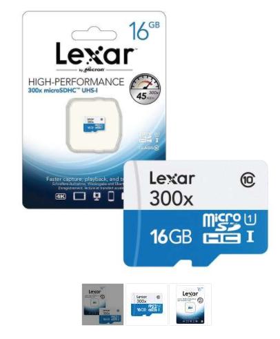 Lexar 16GB Micro SDHC Card £5.69 7dayshop