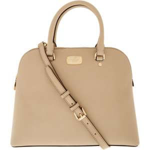 MICHAEL KORS Camel Saffiano Shoulder Bag Save £270 (73%) £99.99 Free Click and Collect at TK MAX