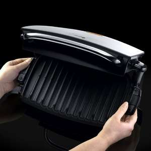 George Foreman 4-Portion Family Grill and Melt with Removable Plates 14525 - Silver £44.99 @ Amazon
