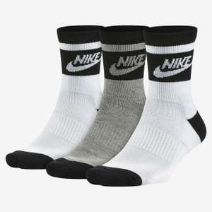 Nike Sportswear Striped low quarter socks (3 pairs) now £5.97 delivered + More (see OP) @ Nike