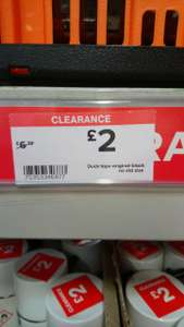 Original Duck Tape Was £6.72 now £2 in Bolton B&Q - in store deal